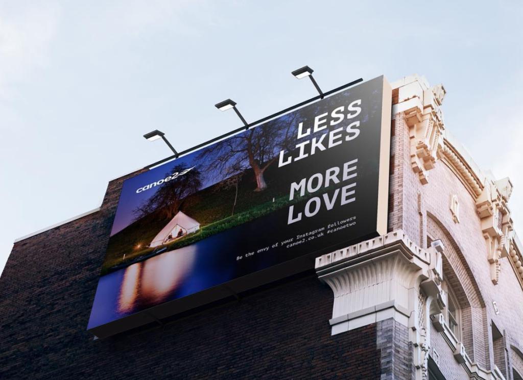 Canoe2 Billboard Campaign
